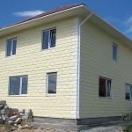 Технология отделки фасада дома из керамзитбетона.