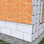 Как утеплить стены из силикатного кирпича экструдированным пенополистиролом толщиной 30 мм.?